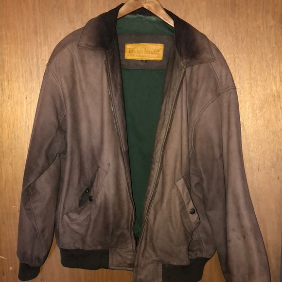 6102f2de7 Timberland Leather jacket